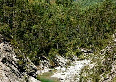 La val Tramontina (Pn)