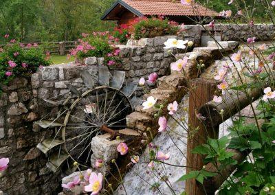 mulino in Val Tramontina in Friuli Venezia Giulia