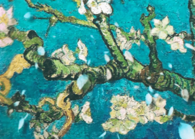 Ramo di mandorlo Van Gogh mostra immersiva