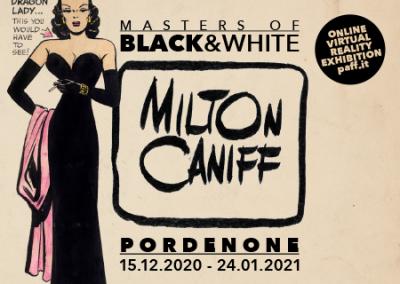 Locandina mostra Milton Caniff