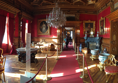sala udienze castello di Miramare